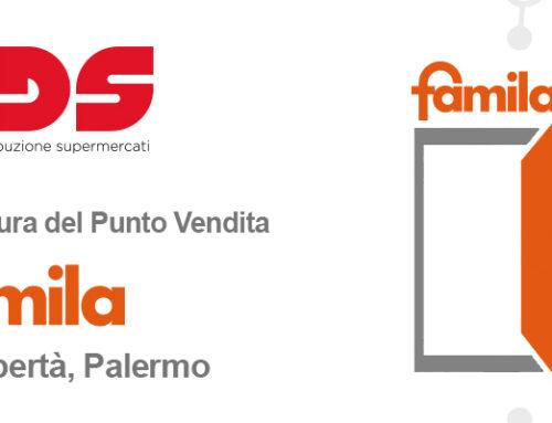 L'11 maggio nasce una nuova idea di spesa: riapre il Famila di Via Libertà 30 a Palermo